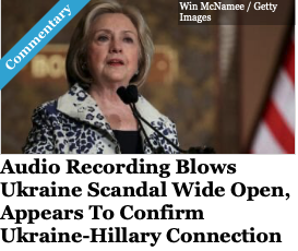 Audio Recording Blows Ukraine Scandal Wide Open In Jacksonville, Appears To Confirm Ukraine-Hillary Connection